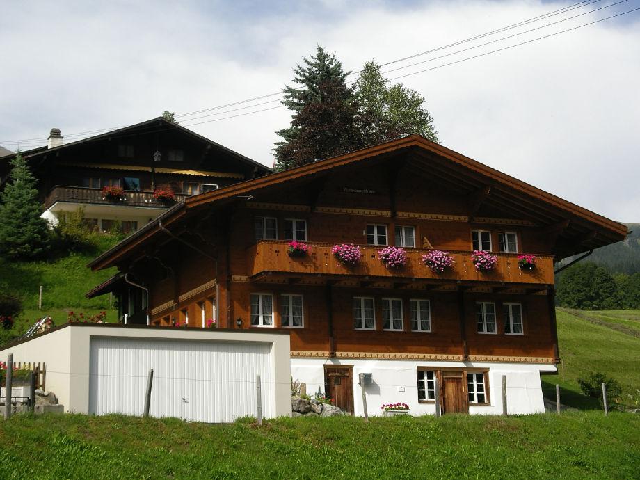 Außenaufnahme Chalet Verbrunnenhaus