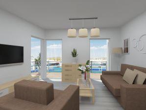 """Apartment Yoga -""""Entschleunigung"""" mit fantastischem Wasserblick"""