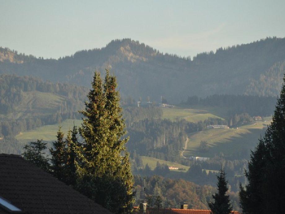 Toller Blick auf die Berge