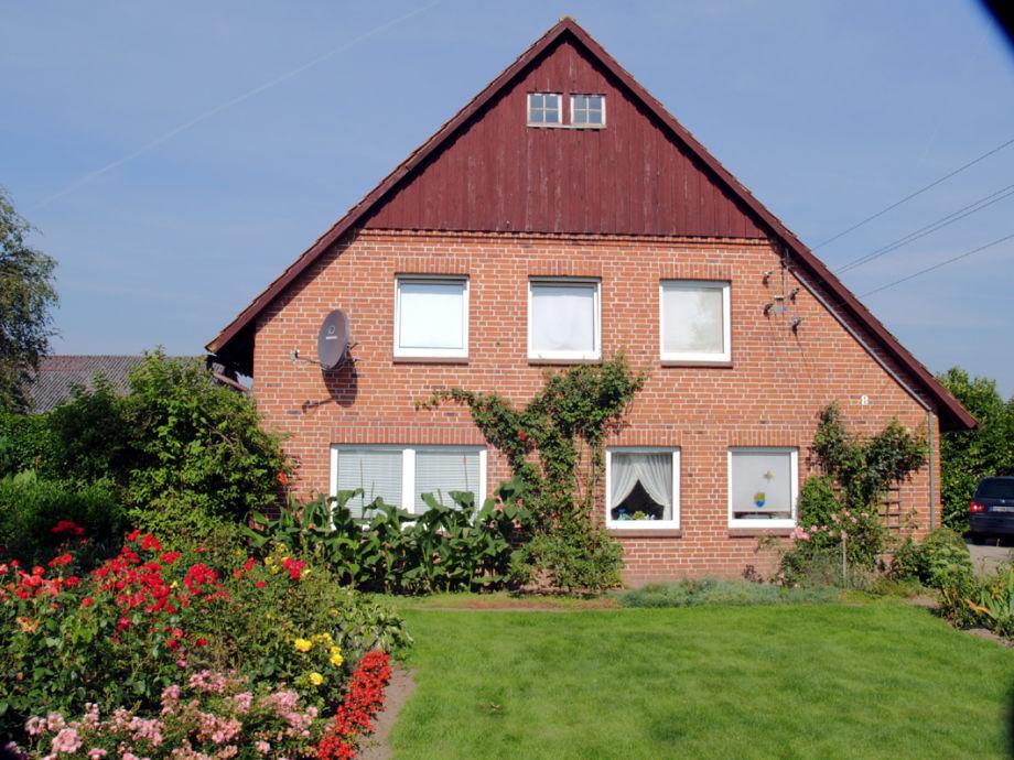 Bauernhaus in Frontansicht