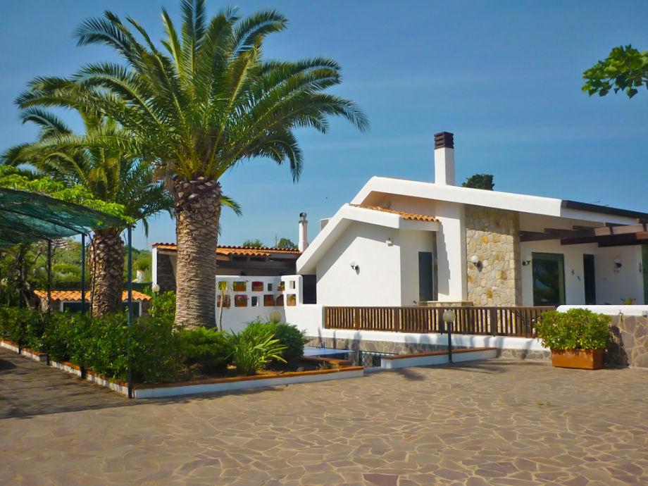 Villa at the sea near Cefalù