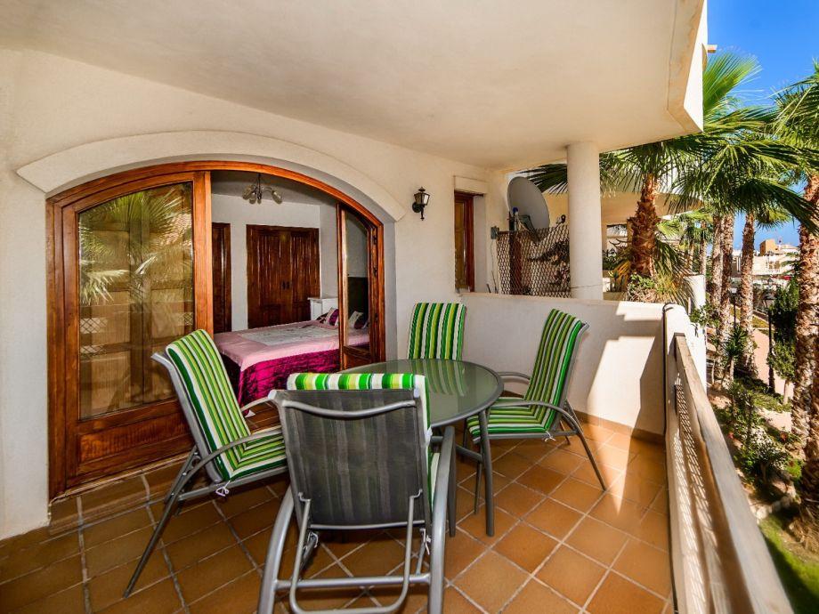 Beautiful, furnished balcony
