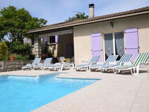 Ferienhaus Villa - Sampzon