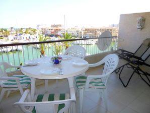 Ferienwohnung Port Grec vista