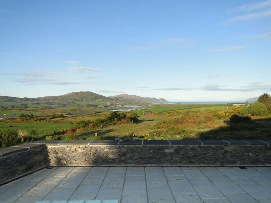 SKYFALL Blick auf Bucht und Atlantik
