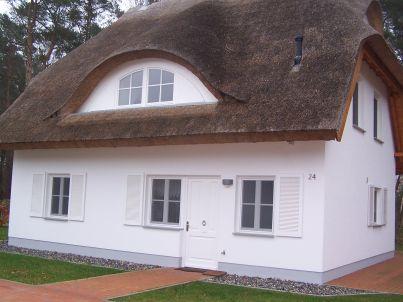 Weißes Traumhaus