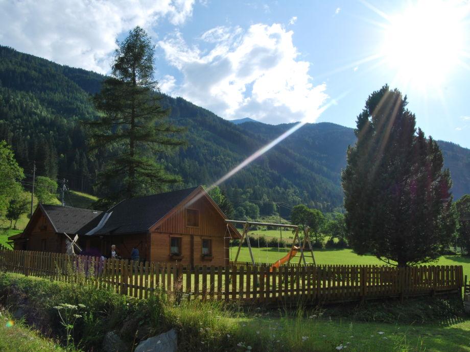 Sommerfoto der Hütte