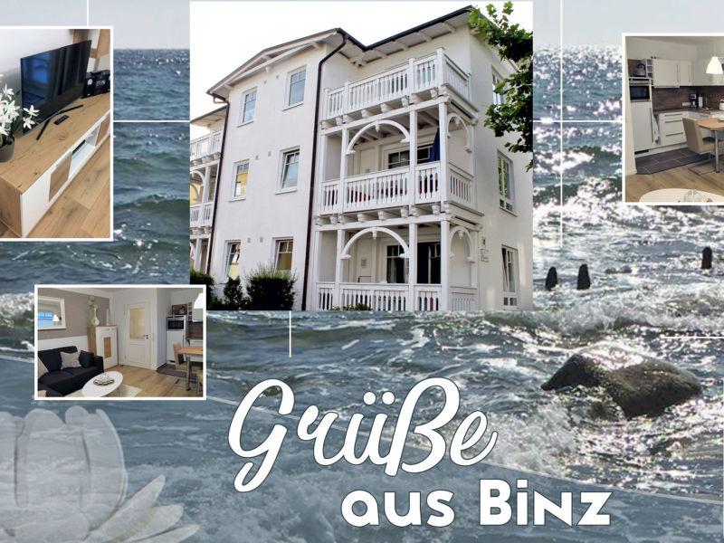 Ferienwohnung 15 Lubin im Haus Seydlitz F639 mit eigenem Strandkorb