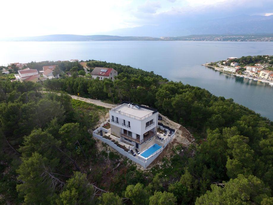 Außenaufnahme Villa Mirta