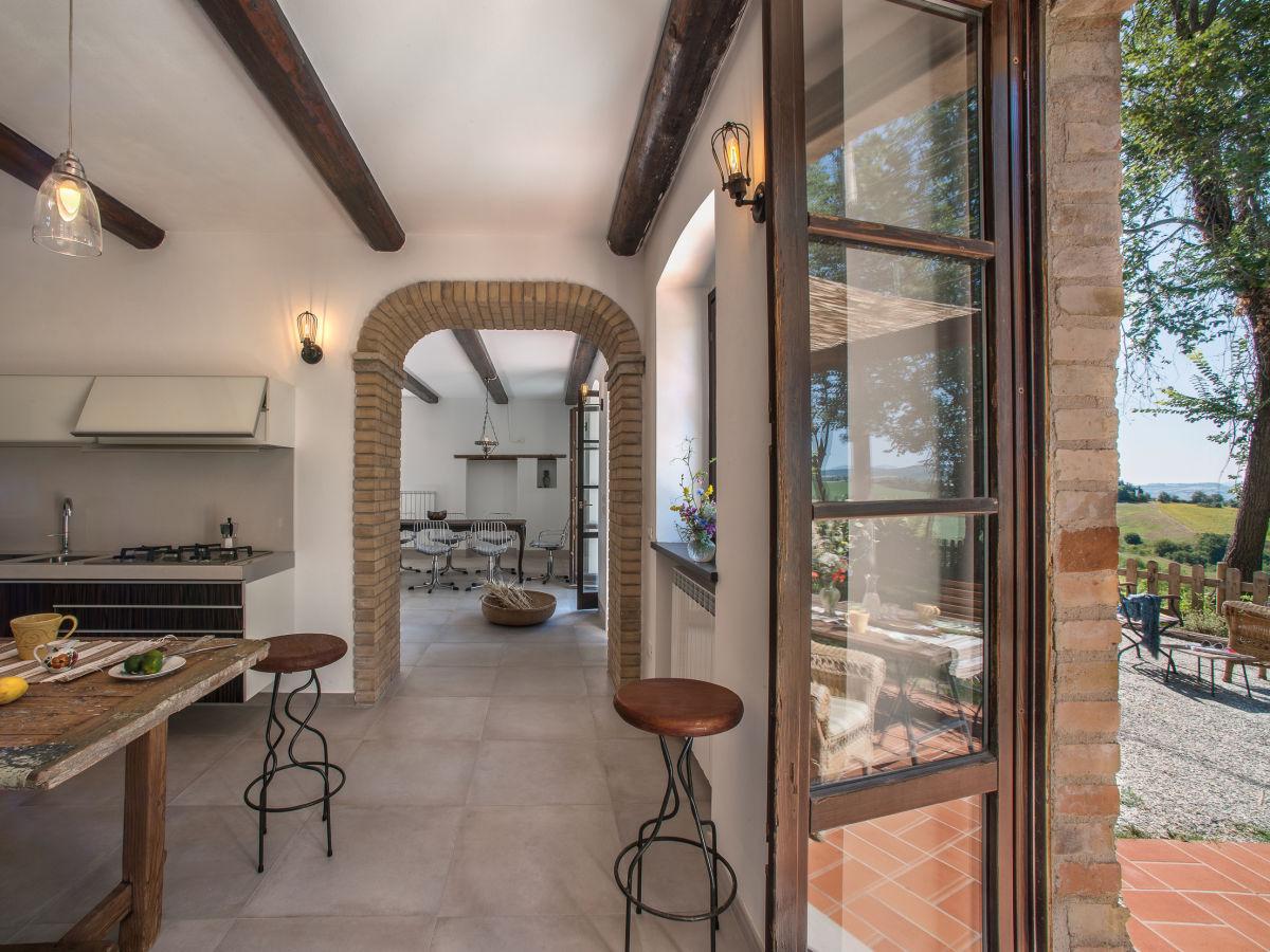 Villa Casa Melograno Montefelcino Firma Marcheholiday
