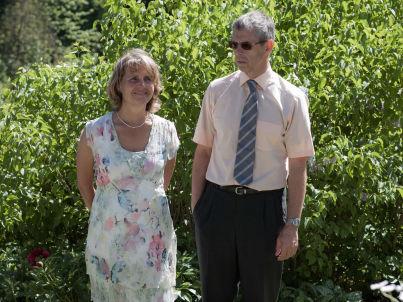 Ihr Gastgeber Jochen und Christine van der Meyden