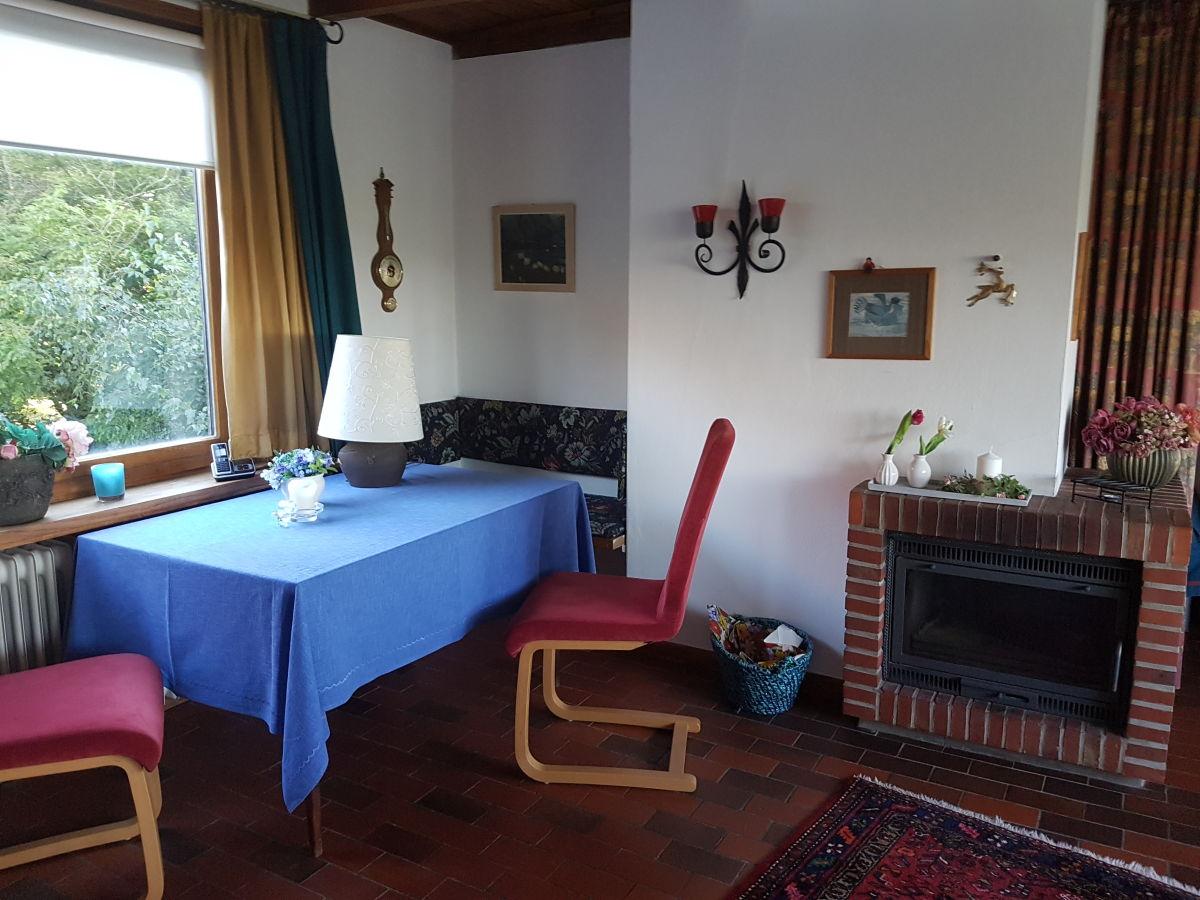 Koch 39 s ferienhaus cuxhaven duhnen frau ingrid koch - Wohnzimmer mit kamin ...