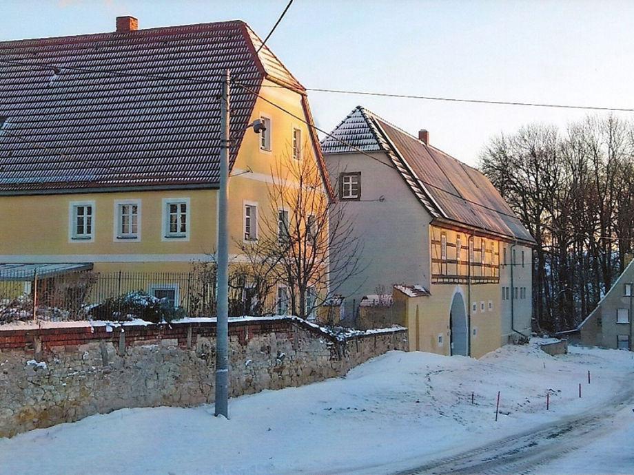 Torhaus im Winter