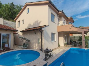 Ferienhaus mit Pool in Dusina