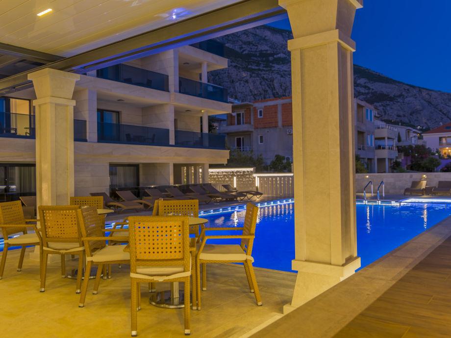 Ferienwohnung luxury aparthotel 2009 dalmatien makarska for Appart hotel 45