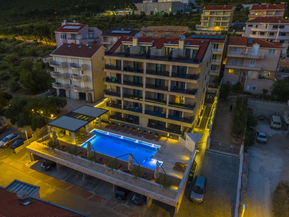 Ferienwohnung luxury aparthotel 1009 dalmatien makarska for Appart hotel 45