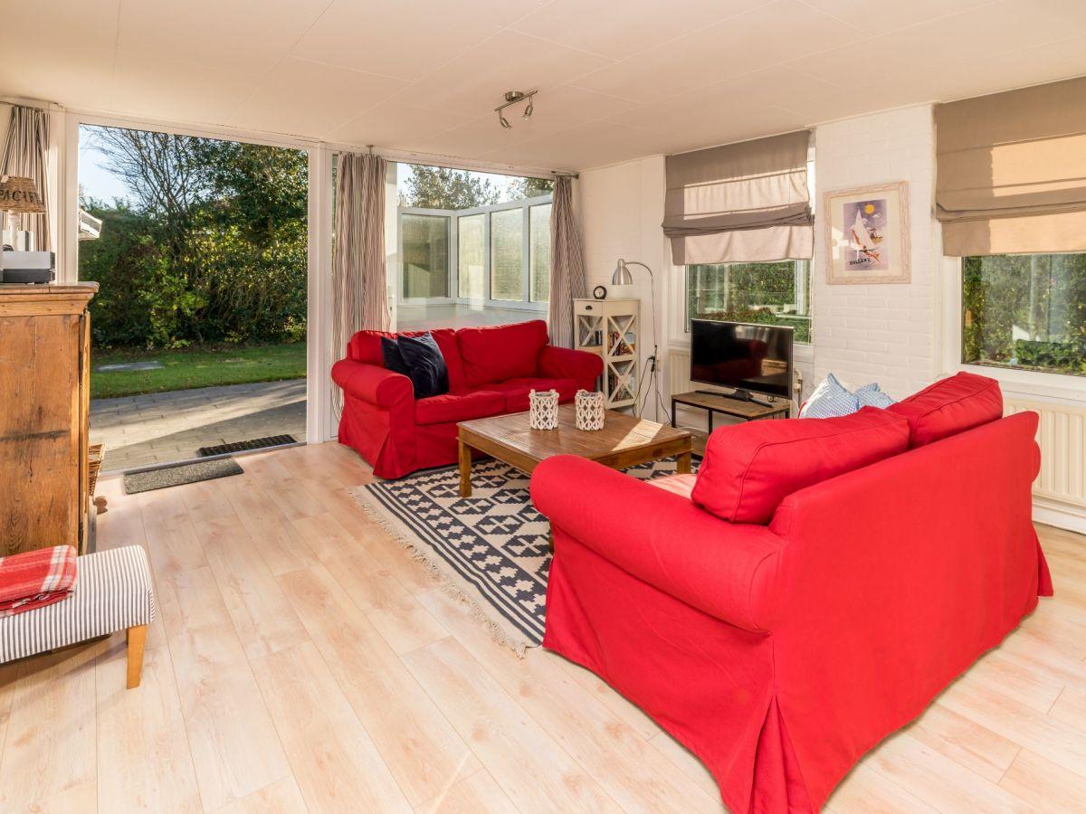 Ferienhaus bongerd 11 renesse firma sorglos urlaub in - Eingerichtete wohnzimmer ...