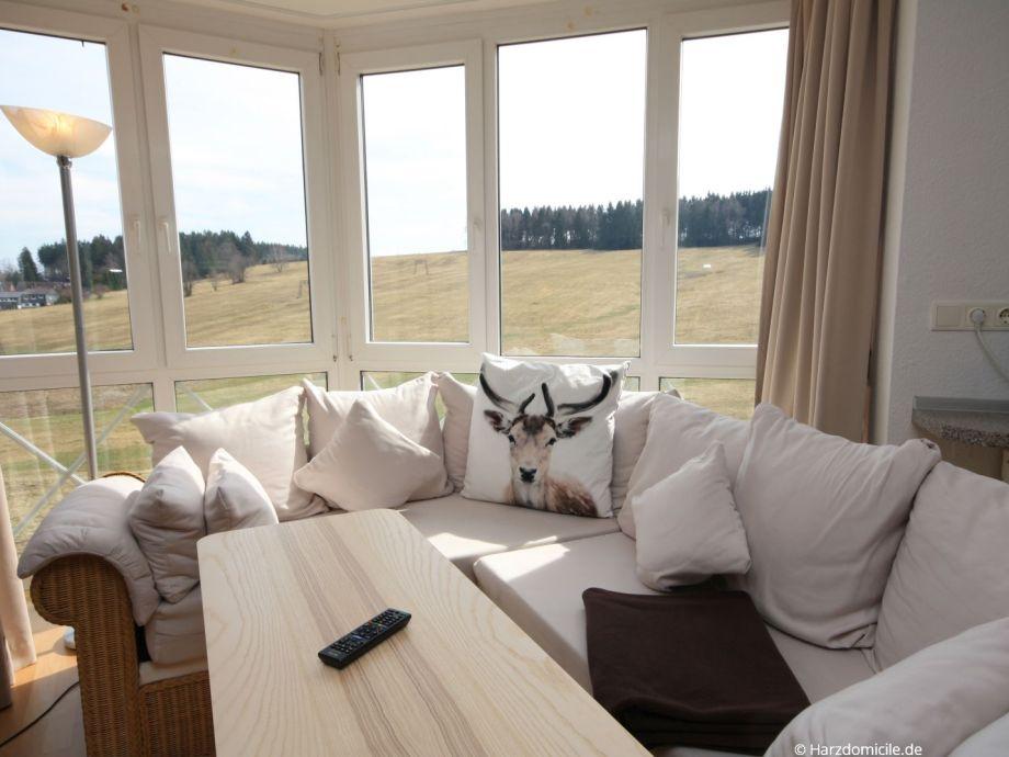 Wohn- /Schlafbereich mit offener Küche