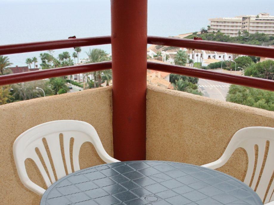 Balcony with nice sea view