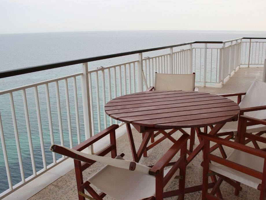 Nicely furnished balcony