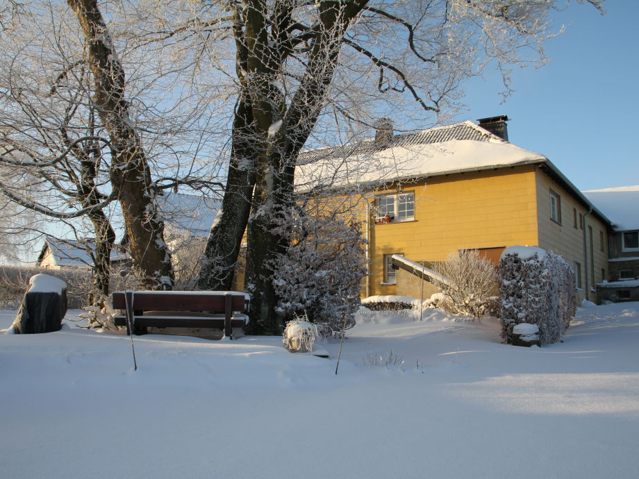 Unsere Fewo im Winter