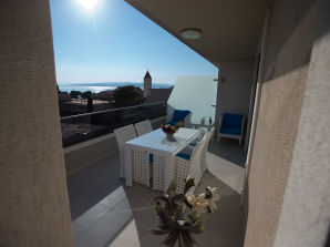 Ferienwohnung Villa Rita - Apartment 2+2 (mit Meerblick)