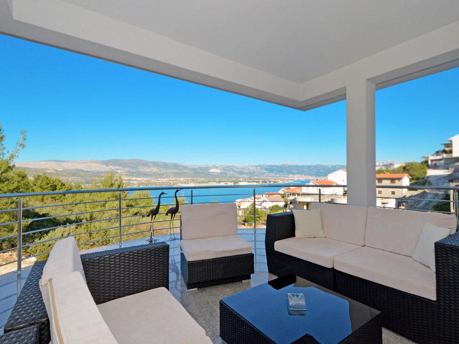 Private terrace, sea view 25m2