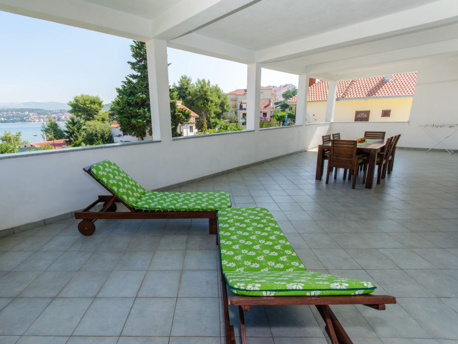 Private terrace with sea view, 50m2