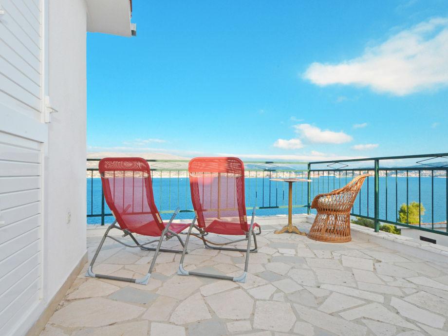 Private sea view terrace, 20m2