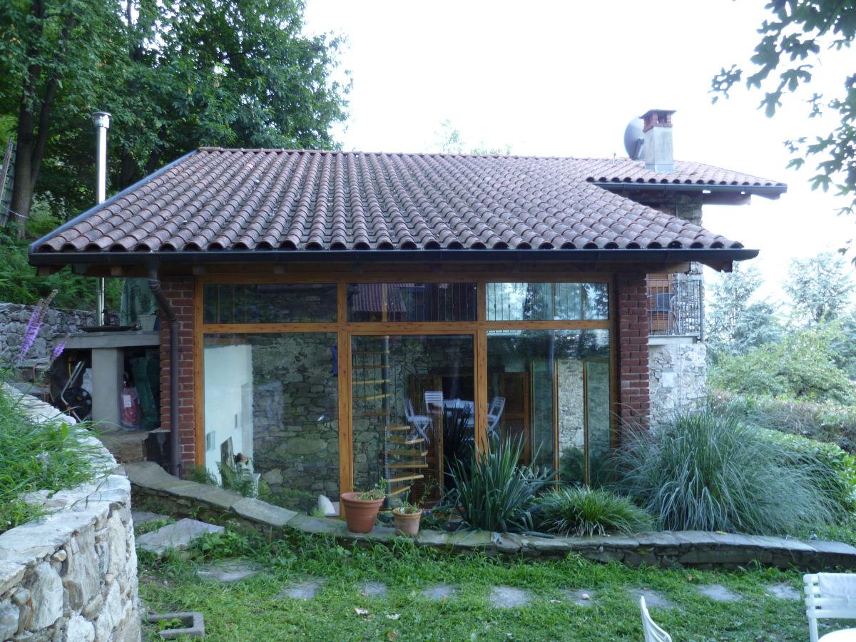Ferienhaus Rustico Lago e Monte, Pettenasco, Frau Anna Kocher
