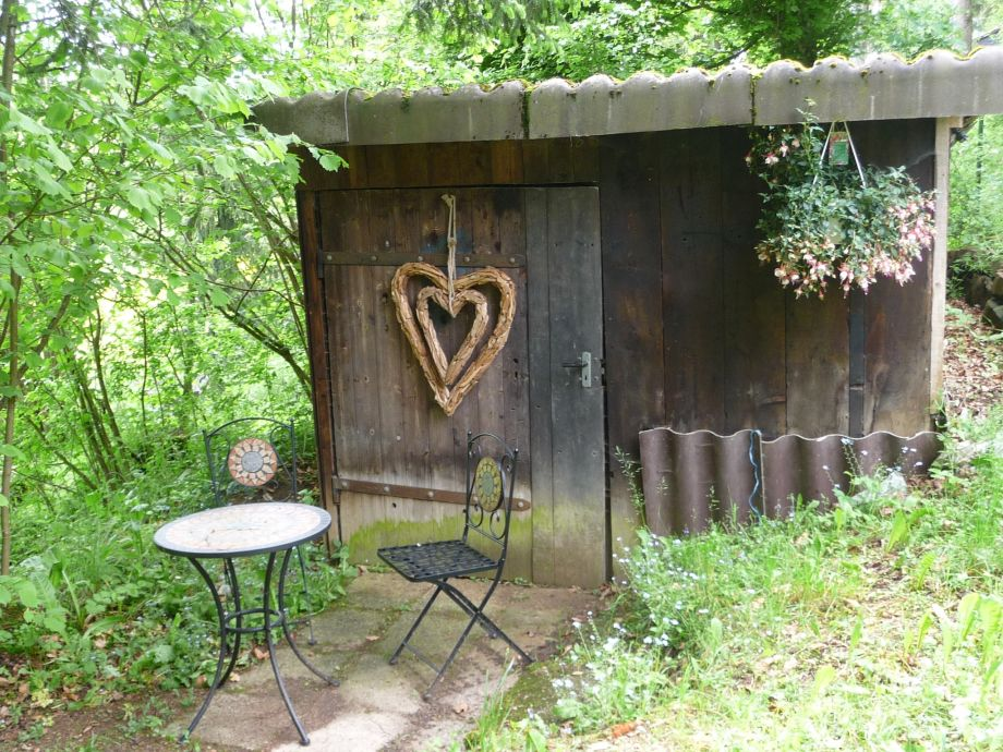 Ferienhaus sam schw bische alb herr anton bastian - Gartenhaus romantisch ...