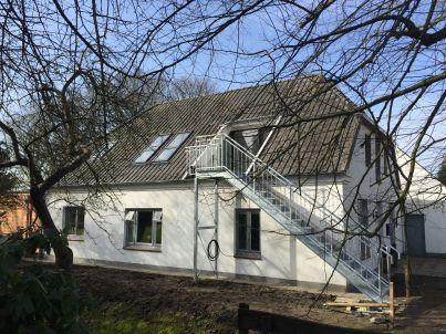 Dachgeschoss im Ferienhaus Seeland