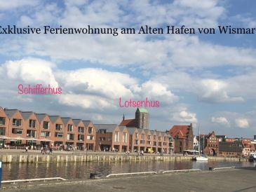 Ferienwohnung Exklusive FeWo im Schifferhus Alter Hafen