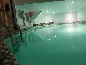 Ferienhaus Poolvilla Schwanensee