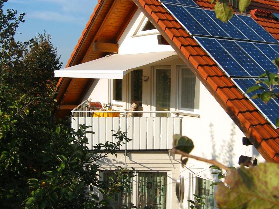 Ferienwohnung talmon bodensee uberlinger see for Markise balkon mit tapeten von hammer