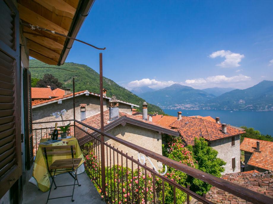 Ausblick von dem privatem Balkon