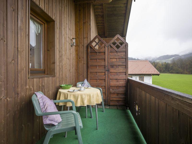 Apartment mit schönem Blick auf die Bergwelt