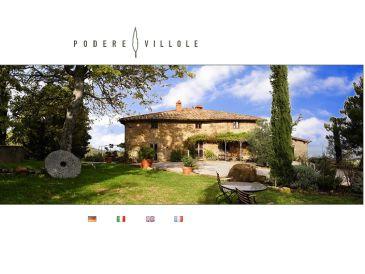 Apartment Arezzo in der Villa Podere Villole