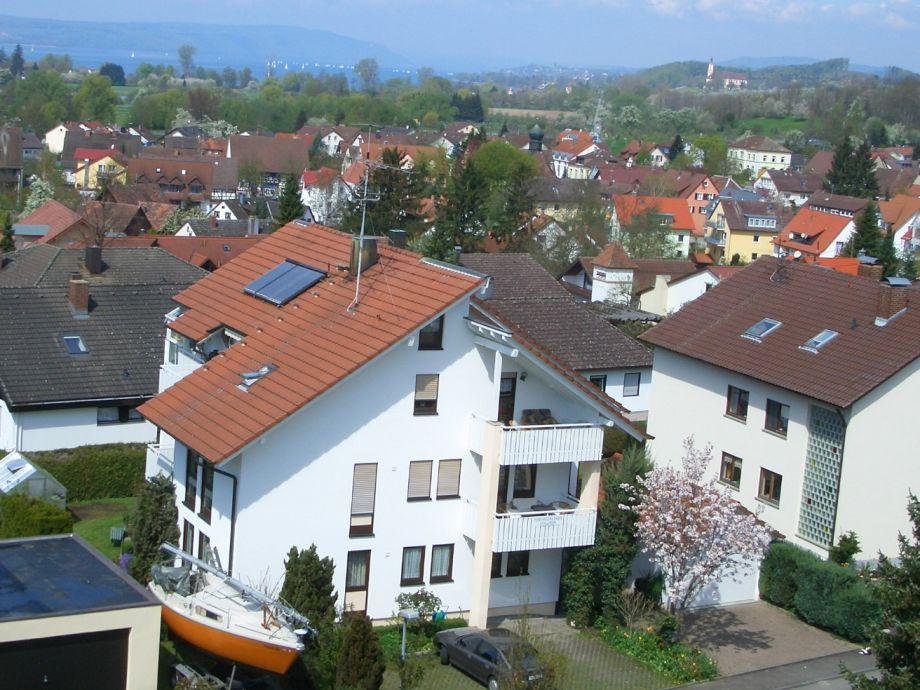 Haus Elli mit Blick zum See und Kloster Birnau