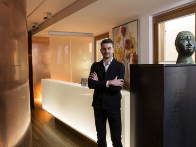 Your host Fabrizio Baldassarri
