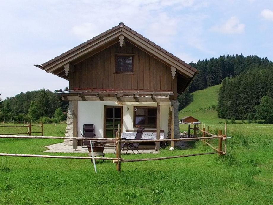 Ansicht des Ferienhauses von Süden