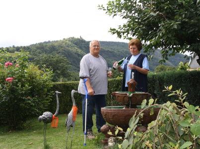 Ihr Gastgeber Helmut und Inge Schetter