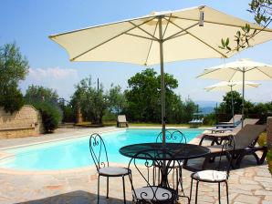 Ferienhaus mit schöner Panoramalage in Valdichiana