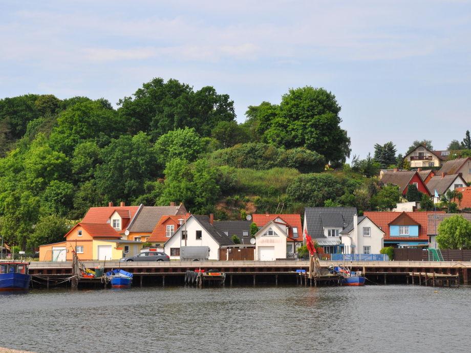 Hafen von Kamminke
