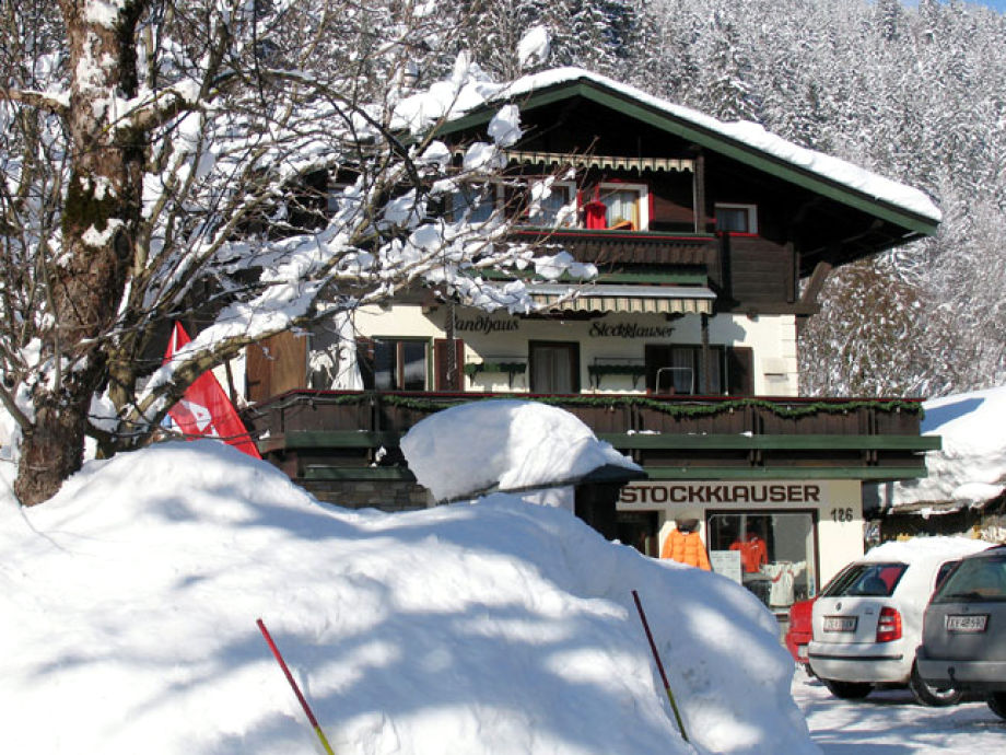 guesthouse Stockklauser in winter