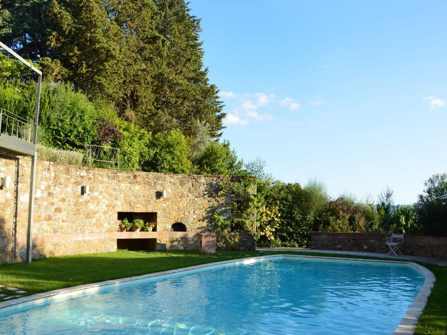Ferienwohnung boheme toscana chianti firma i casaloni for Pool und garten