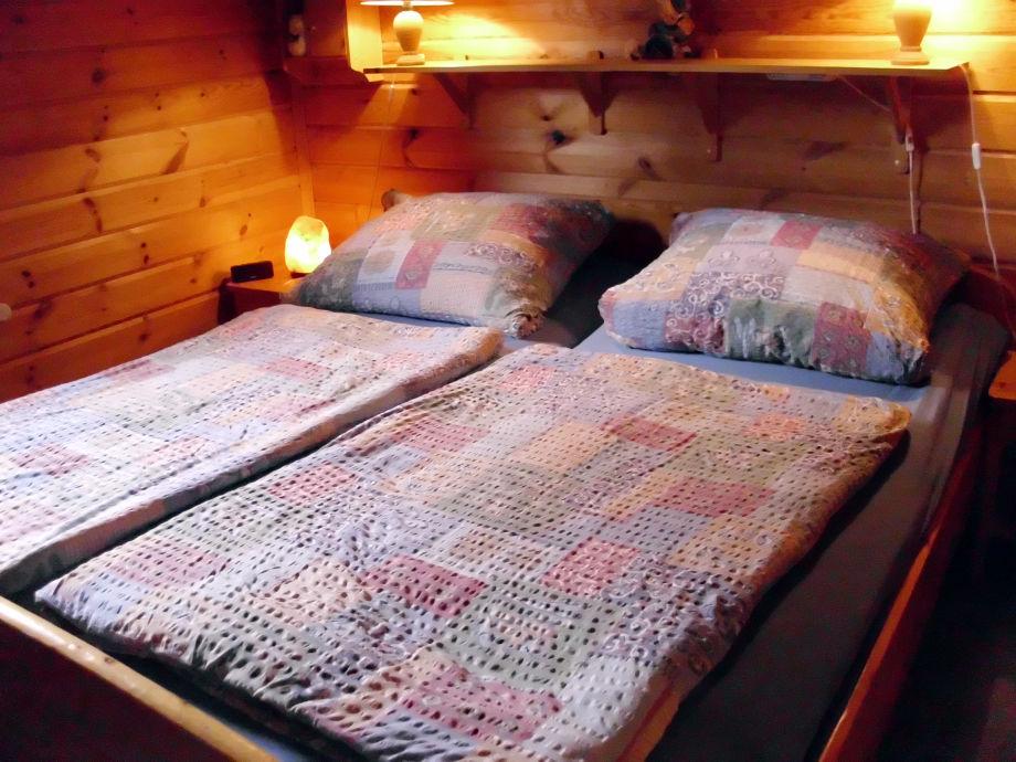 Schlafen im Blockhaus