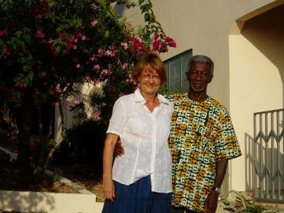 Ihr Gastgeber George und Elisabeth Nimoh