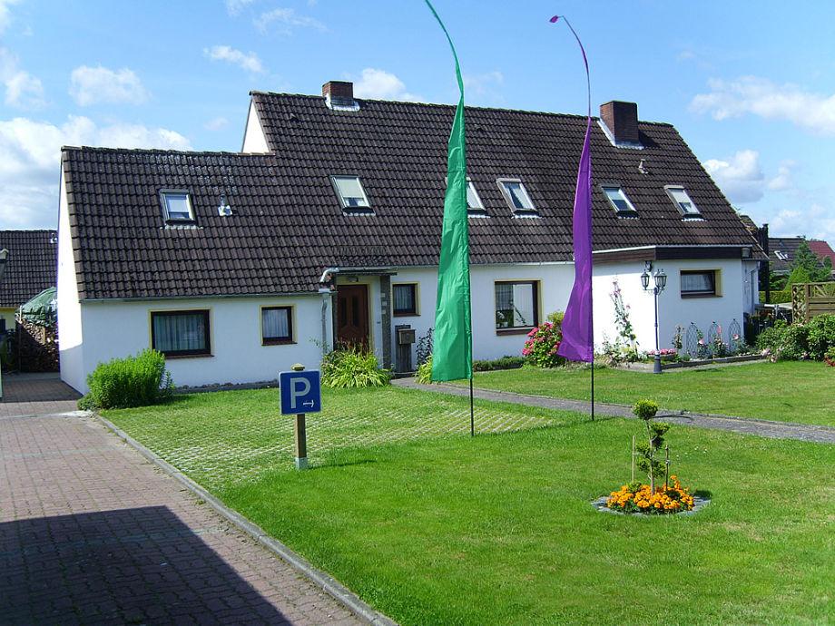 Blick auf unser Haus