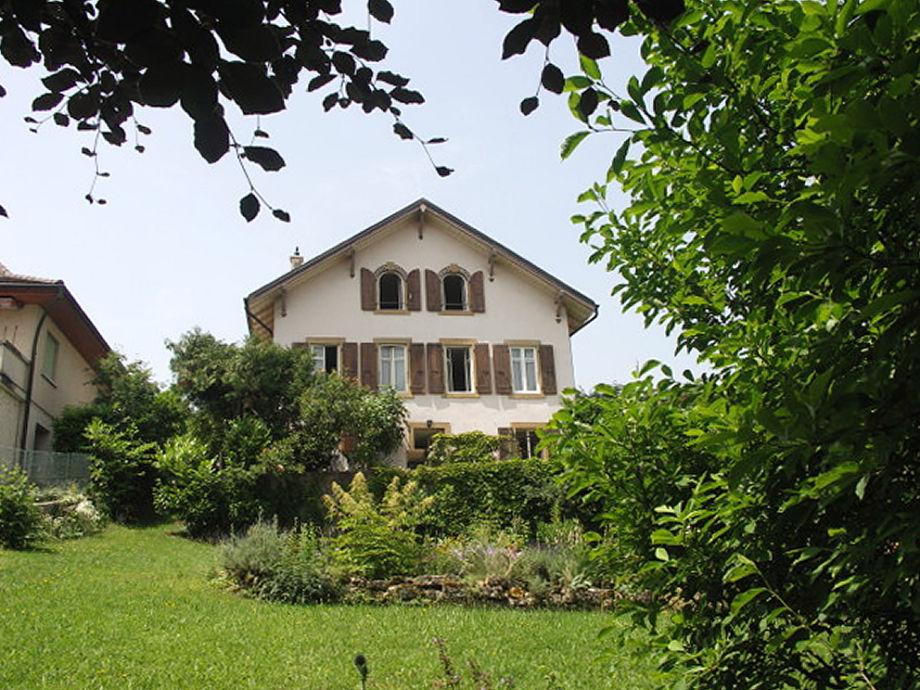 Das Haus vom Garten und vom Hafen (ganz rechts)
